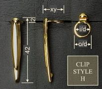 Clip style H
